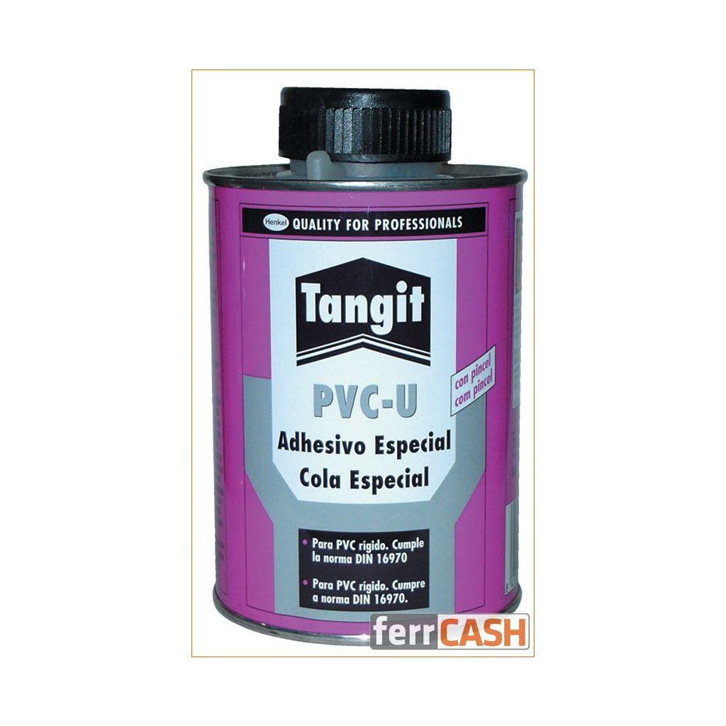 ADHESIVO PVC RIGIDO CON PINCEL BOTE 500GR. TANGIT 298585