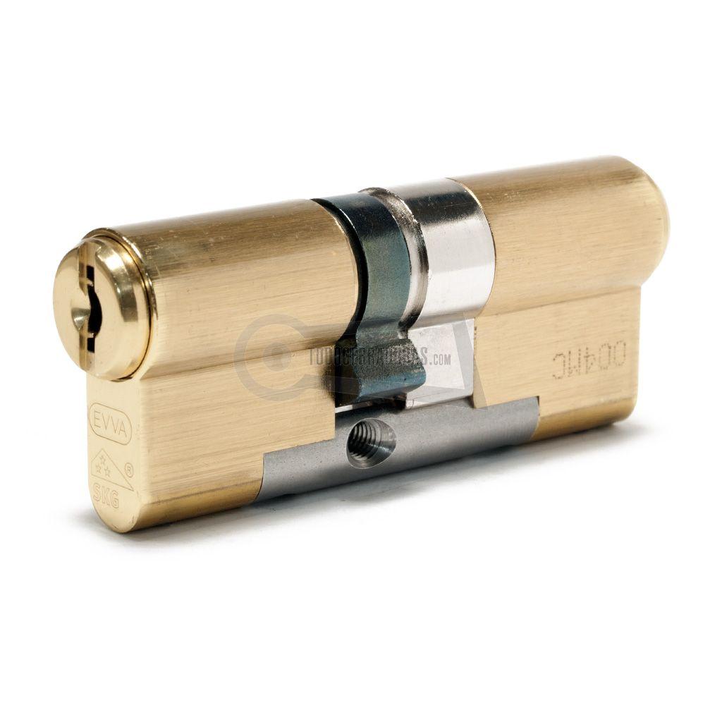 CILINDRO EVVA MCS 31x41 MP LATÓN