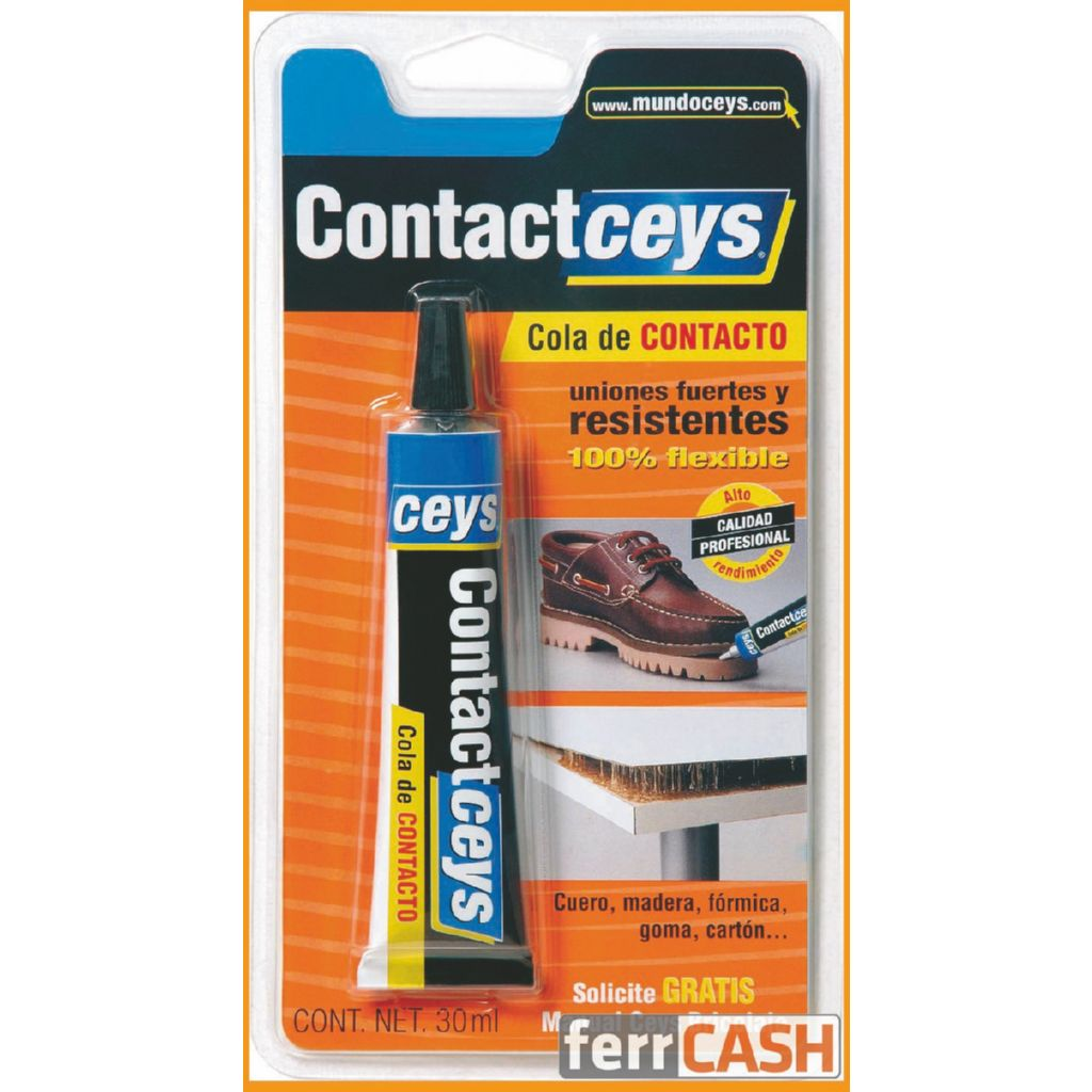 COLA CONTACTO STANDARD 30 ML. CONTACTCEYS BLISTER 503401