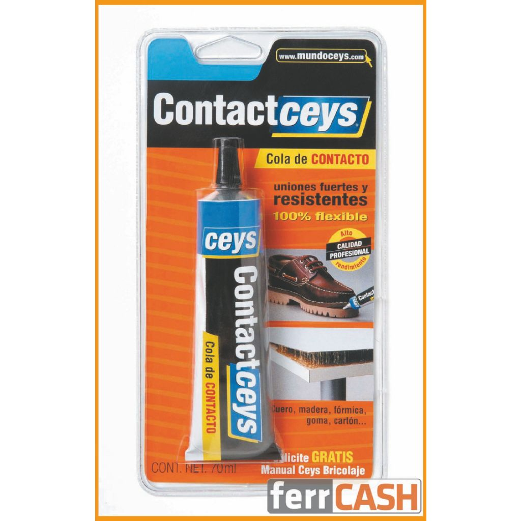 COLA CONTACTO STANDARD 70 ML. CONTACTCEYS BLISTER 503402